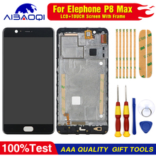 New original  For Elephone P8 max Touch Screen LCD Screen LCD Display Digitizer Assembly With Frame Replacement Parts  5.5inch