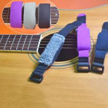 Guitar Fretwraps Strings Mute Muter Fretboard Muting Wraps for Normal 6/7 String Guitars Basses M7DC guitar fretwraps tool instruments fingerboard string bass adjustable mute damper portable assistant soft practical accessories