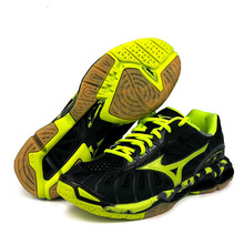 Новинка; кроссовки для волейбола Mizuno Lightning; Мужская и женская спортивная обувь на подушке; дышащие Нескользящие кроссовки для дома; Tenis Voleibol