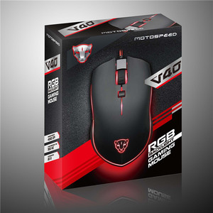 Image 5 - Motospeed V40 USB Wired Gaming Mouse 6 Button Optical with LED Backlit Display Pro Gamer For PC Laptop Desktop Computer Game