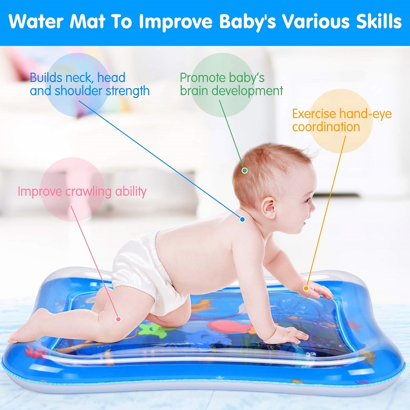 Multi-function Baby Crawling Inflatable Water Cushion Kids Patted Pad Toys For Children Early Education Sensory Stimulation Mat