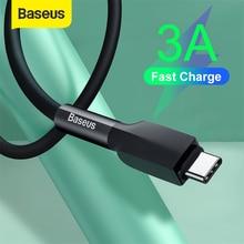 Baseus usbタイプcケーブルS20 S10 プラス 3A液状シリコーンタイプc急速充電 3.0 ケーブルusb充電タブレット