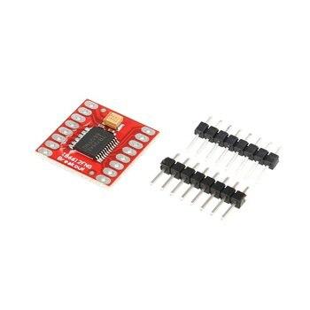 TB6612FNG Dual DC Stepper Motor Control Drive Expansion Shield Board Module for Arduino Microcontroller Better than L298N 1 pcs l298n motor drive board module dc stepper motor robot smart car