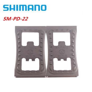 Shimano-abrazadera plana para Pedal de bicicleta de montaña, SM-PD22 SPD, PD-22, para...