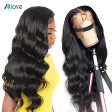 13x4 Body Wave Lace Front Human Hair Wigs Pre Plucked With B