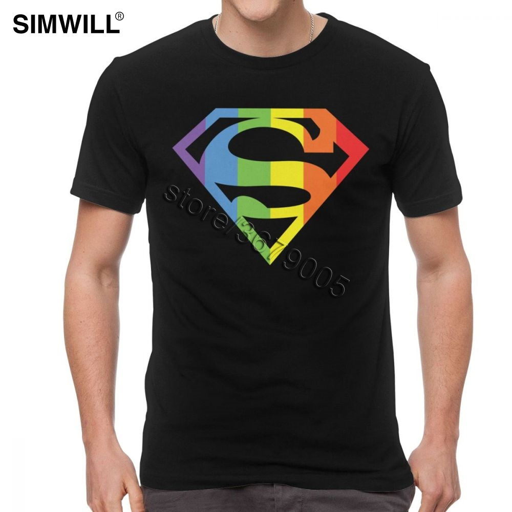 Male Super Lesbian <font><b>Bisexual</b></font> Lgbt Gay <font><b>Pride</b></font> T <font><b>Shirt</b></font> Classic Tee <font><b>Shirt</b></font> Short Sleeve Cotton Summer T-<font><b>Shirt</b></font> Trendy LGBTQ Merchandise image