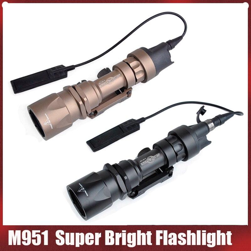 elemento surefir airsoft m600c arma tactical scout luz led 366 lumentactical rifle lanterna airsoft serie m600