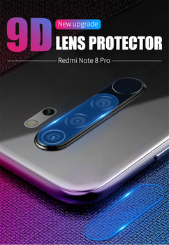100pcs/lot  Camera Lens Tempered Glass For Xiaomi Redmi Note 8 Pro Lens Glass Screen Protector For Redmi Note 8 Lens flim