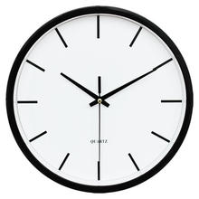 Modern Simple Wall Clock Indoor Non-Ticking Silent Sweep Movement Wall Clock For Office,Bathroom,Livingroom Decorative 10 Inch(China)