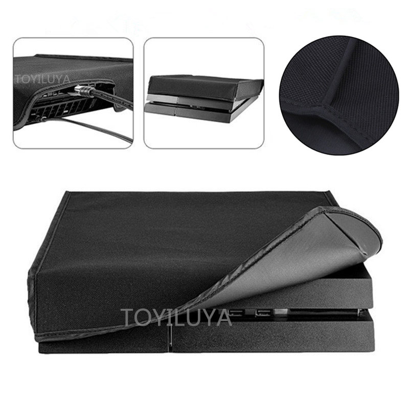 DustProof Cover Case For Sony Playstation 4 PS4 Pro Slim PS4 Console Soft Dust Proof Neoprene Cover Sleeve For Horizontal Place