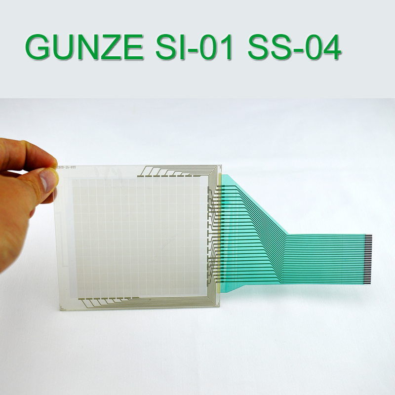 GUNZE SI-01 SS-04 Touch Screen Glass for HMI Panel repair~do it yourself, Have in stock