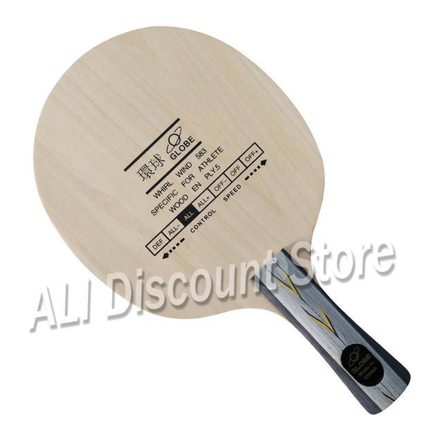 Globe Whirl Wind 583 spécifique pour athlète 5-contreplaqué Allround Table de Tennis lame pour raquette de ping-pong