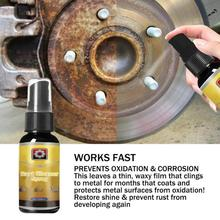 Средний 30 мл мощное универсальное средство для удаления ржавчины спрей для ухода за автомобилем бытовые чистящие средства Антикоррозийная смазка