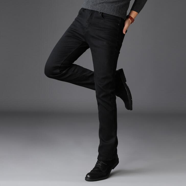 Free Shipping Hot Sales Business Long Pants Stretch Men Jeans Comfortable Trousers