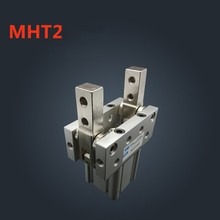 MHT2-32D 40D 50D 63D Toggle Type Air Gripper SMC type Cylinder cy1s 20mm bore air slide type cylinder pneumatic magnetically smc type compress air parts coupled rodless cylinder parts sanmin