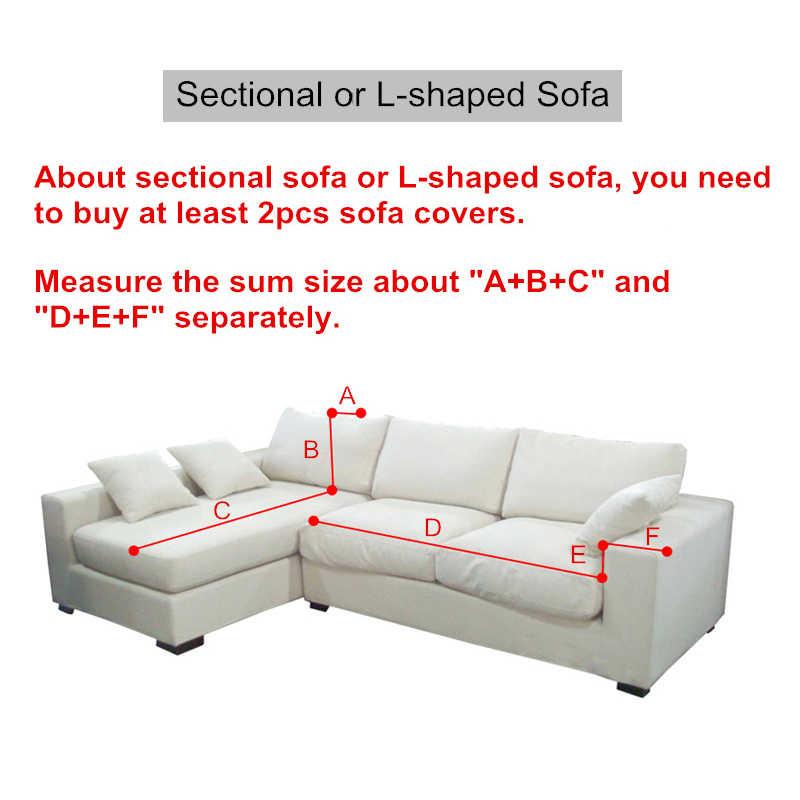 Однотонное полиэстерное покрытие для дивана, высокоэластичное нескользящее покрывало для дивана, универсальный защитный чехол для мебели
