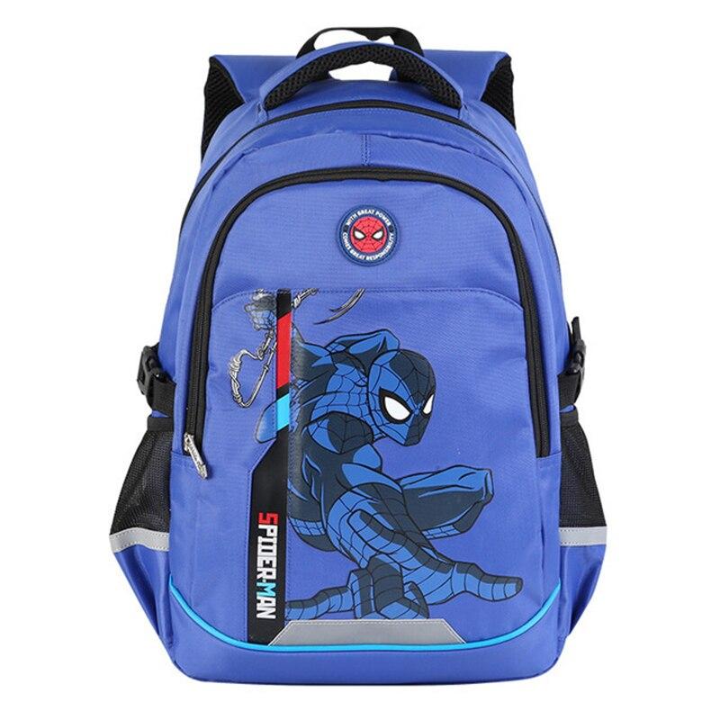 Large Size Cool Spiderman Backpack For Baby Kids Bag For Girls Boys Preschool Kindergarten Bags