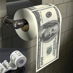 Горячая Дональд Трамп $100, цена в долларах, туалет Бумага ролл Новинка кляп подарок дамп Трамп Забавный подарок-розыгрыш