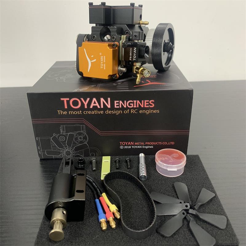 TOYAN  ENGINE FS-S100WA Water-cooled Four-stroke Methanol Model Engine