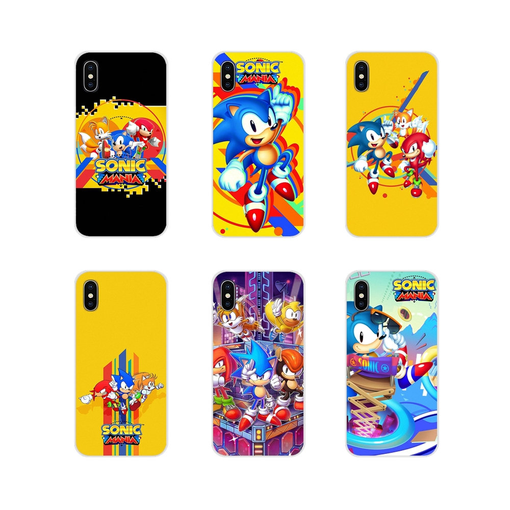 Accessories Phone Shell Covers Sonic Mania poster For Apple iPhone X XR XS 11Pro MAX 4S 5S 5C SE 6S 7 8 Plus ipod touch 5 6