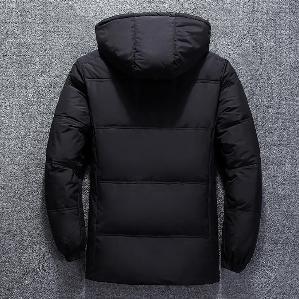 2020 Winter Jacket Mens Quality Thermal Thick Coat Snow Red Black Parka Male Warm Outwear Fashion - White Duck Down Jacket Men 5