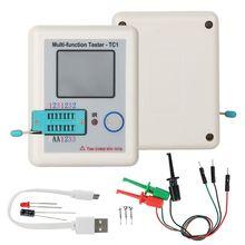 Testeur de Transistor TFT Diode Triode compteur de capacité pour LCR T6/TC1 NPN PNP MOSFET vente en gros et livraison directe