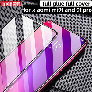 Image 1 - מסך מגן עבור xiaomi mi 9t פרו מזג זכוכית xiaomi mi9t כיסוי מלא HD 2.5D Mofi מקורי ultra דק מגן סרט