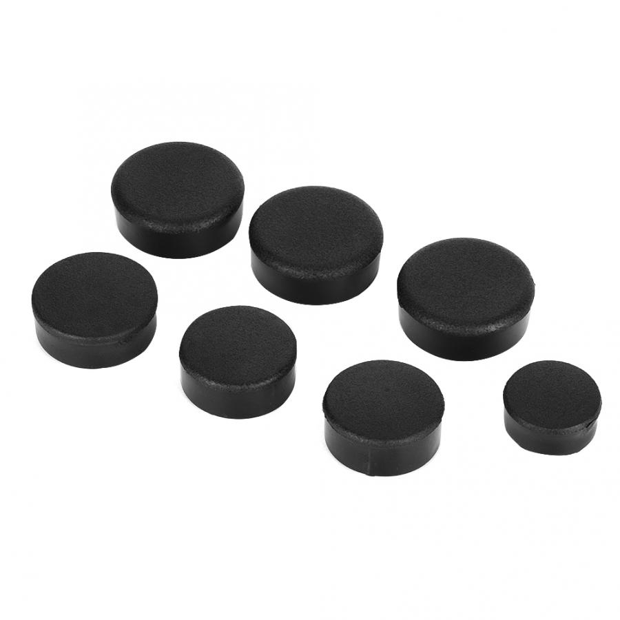 7Pcs Motorcycle Frame Hole Cover Cap Plug Kit Fit for Kawasaki Ninja ZX14/ZZR 1400 motorcycle parts