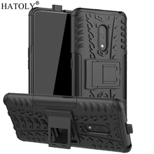 цена на For OPPO Realme X Case Heavy Duty Armor Hard Rubber Silicone Shell PC Back Phone Cover for Realme X Protective Case For Realme X