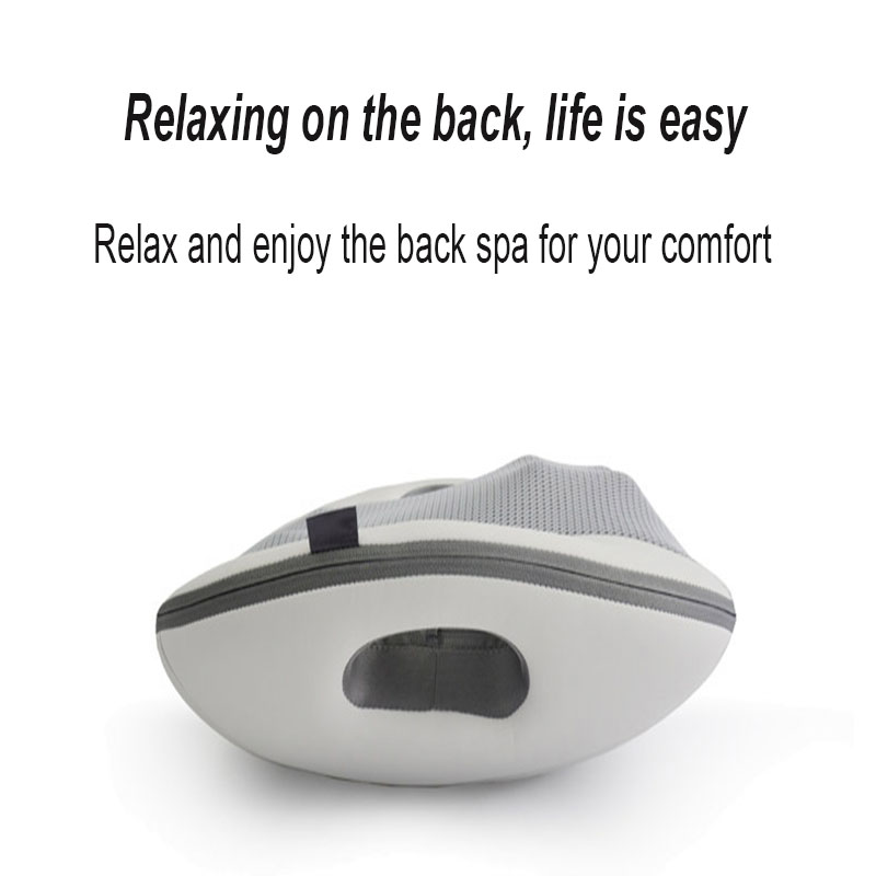 Back Massager Waist Massager Massage Cushion Relaxing The Back Car Back Massage Portable Smart Hot Compress