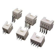 20PCS PHB 2.0mm Pitch Connector Male Socket Straight Pin Double Row with Buckle PHSD Connectors 2*2/3/4/5/6/7/8/9/10/12/15Pin