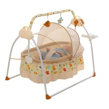 Electric Bassinet Baby Crib Baby Shaker Intelligent Automatic Lying Crib Automatic Electric Shakingbed Baby Beds  Bassinet
