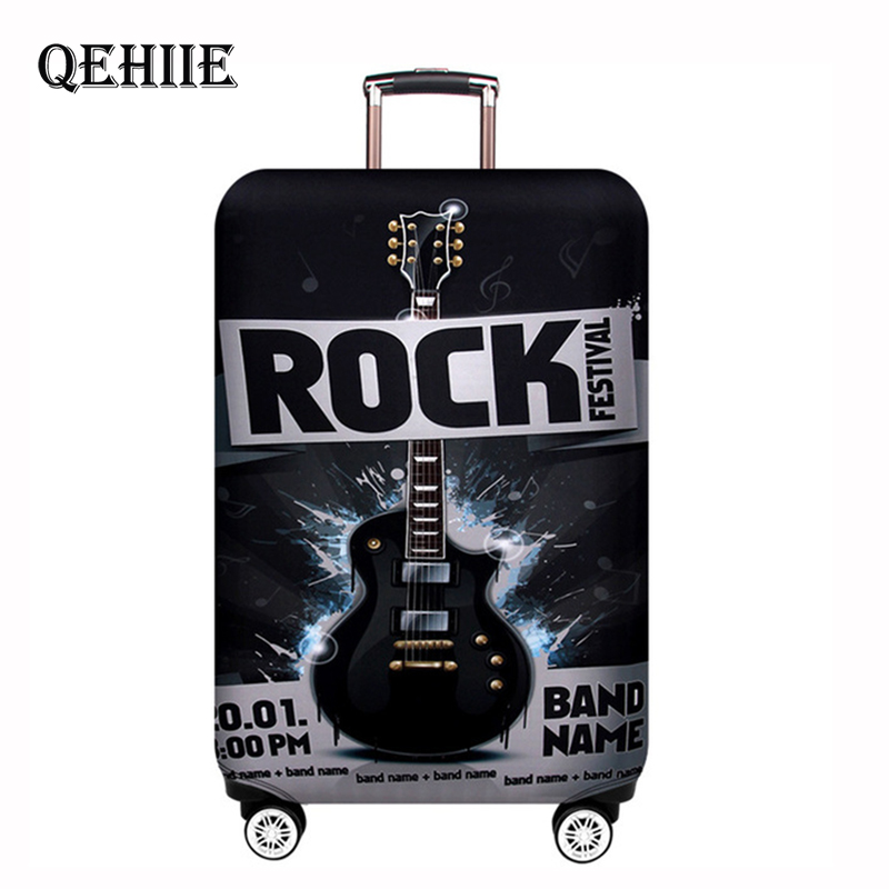 QEHIIE Suitcase Cover Protector Elastic Thicken Travel Dust Bag Baggage Luggage Covers Accessories Protective Case For The Suitc