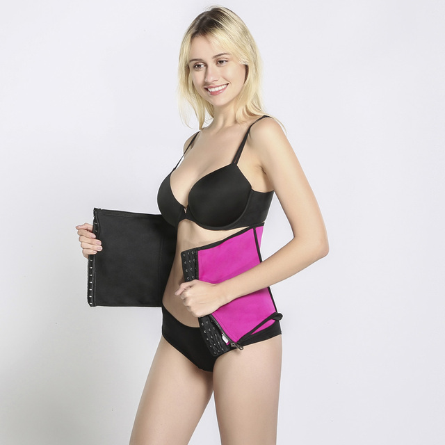 Waist Trainer Trimmer Body Shaper Tummy Shapewear Modeling Belt Cincher Girdle Slimming Shapers Corset Weight Loss Promote Sweat 5