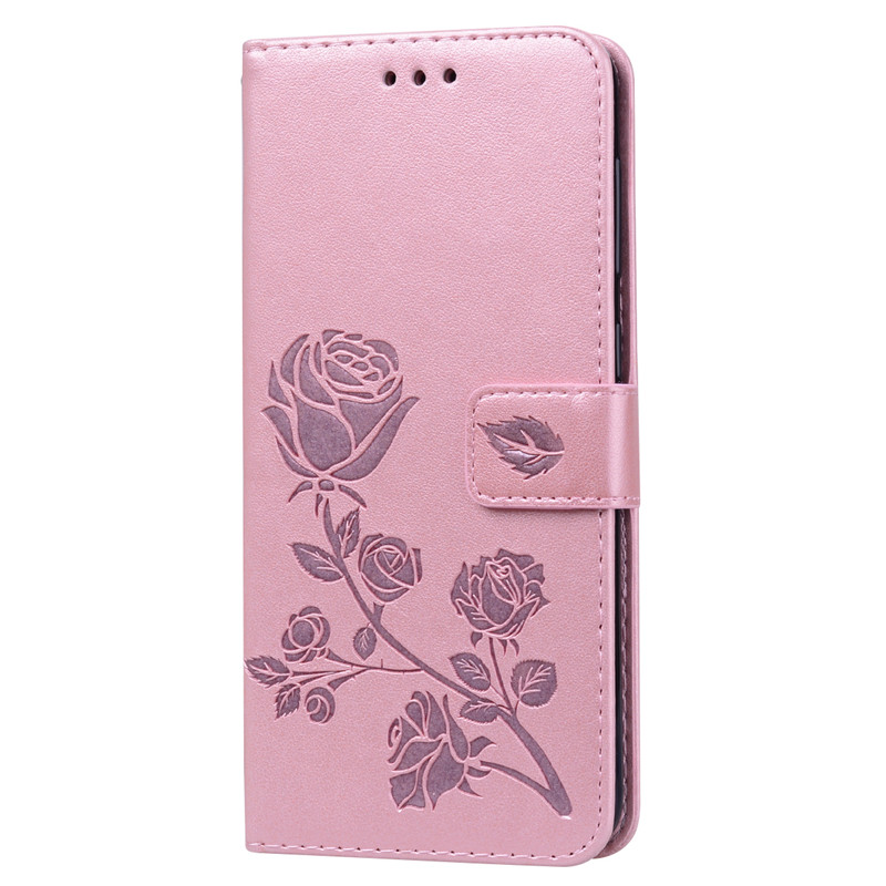 Coque A30 A40 A50 A70 A6 A8 J4 J6 S10 Plus Simple Couples Flip Wallet Leather Case For Samsung Galaxy A20 A60 A9 2018 Card Cover in Wallet Cases from Cellphones Telecommunications