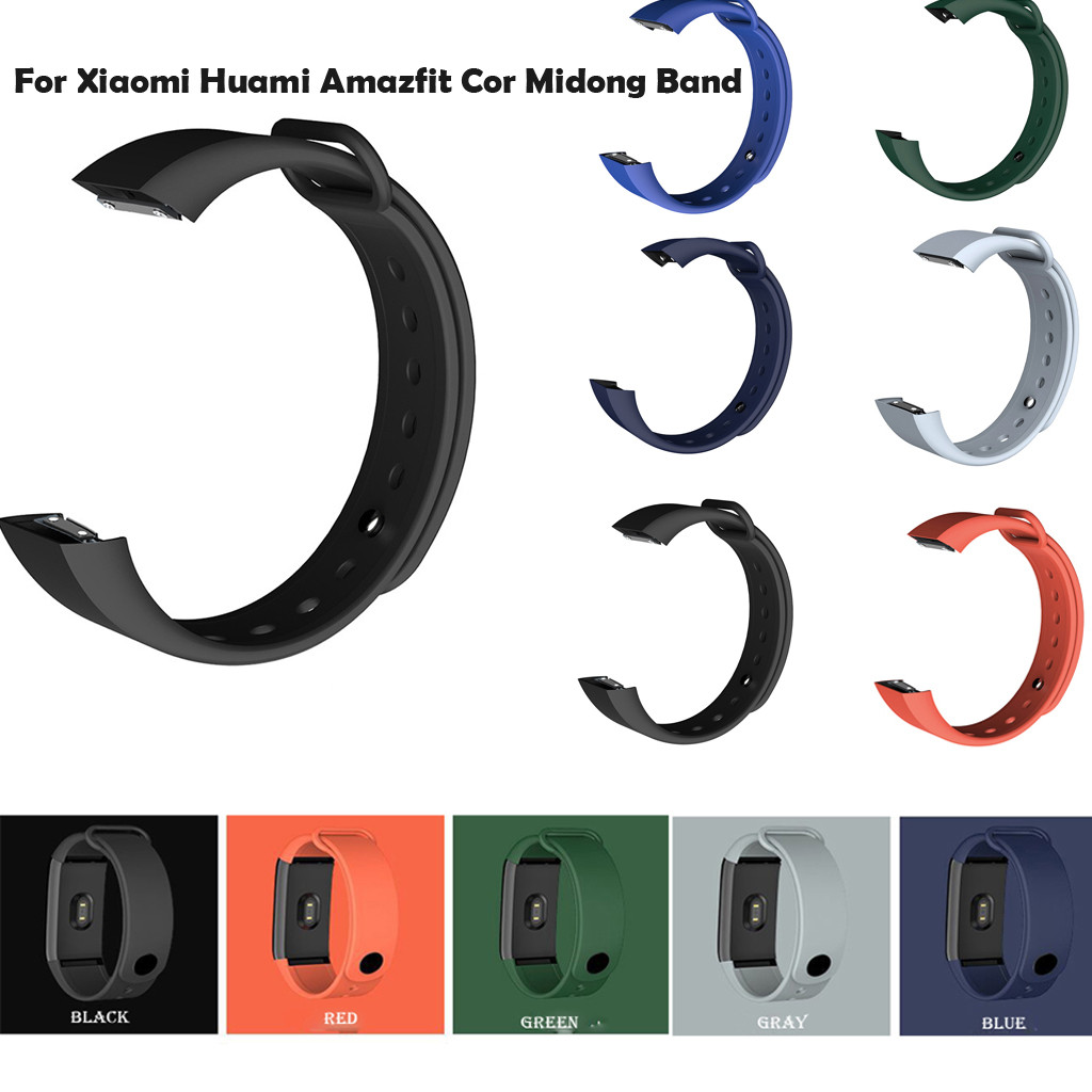 Smart Bracelet Silicone Bracelet Watch Band WristStrap for Xiaomi <font><b>Huami</b></font> <font><b>Amazfit</b></font> <font><b>Cor</b></font> <font><b>Midong</b></font> Band Fitness Tracker #40 image