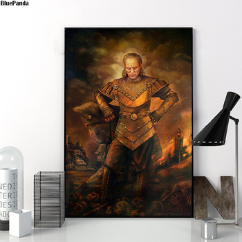 Vigoes The Carpathian Canvas Prints Picture Modular Paintings For Living Room Poster On The Wall Home Decoration image