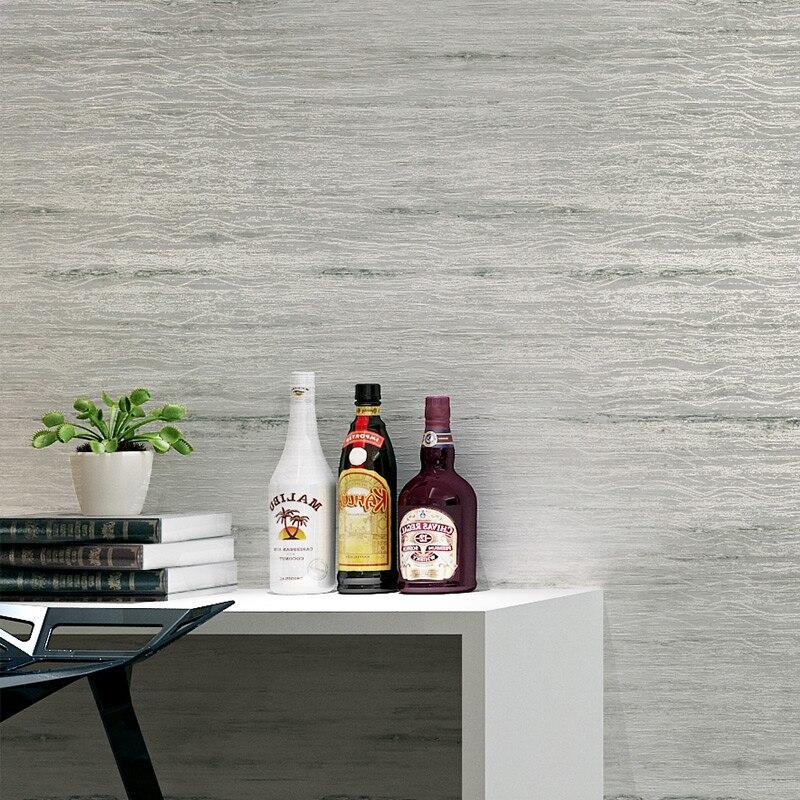 Modern Plain Solid Color Non-woven Striped Design Wall Paper Rolls Bedroom Living Room Backdrop Grey Beige Wallpaper Home Decor