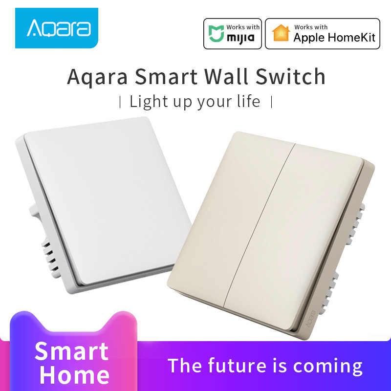 Aqara壁スイッチmiスイッチワイヤレスキー壁スイッチなし中立zigbee接続で動作aqaraハブゲートウェイ 3