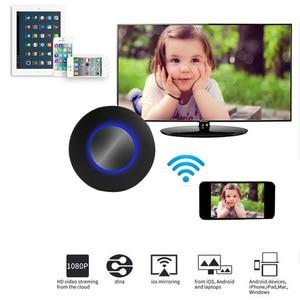 Image 2 - AllShare Cast DLNA Miracast Airplay Screen Mirroring HDTV Dongle HDMI Stick bezprzewodowy Wifi samochód AV RCA Adapter wideo telefon do telewizora