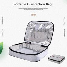 Portable UV Sterilizer Bag USB Disinfection Storage Bag Travel Mobile Phone Glasses Underwear Baby Bottle Germicidal Kill Virus