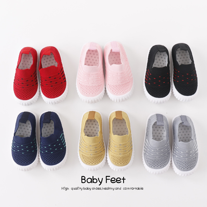 2020 New Style  Baby Sports Sneakers Infant Toddler Soft Anti-slip Baby Shoes Newborn Boys Girls First Walkers Shoes