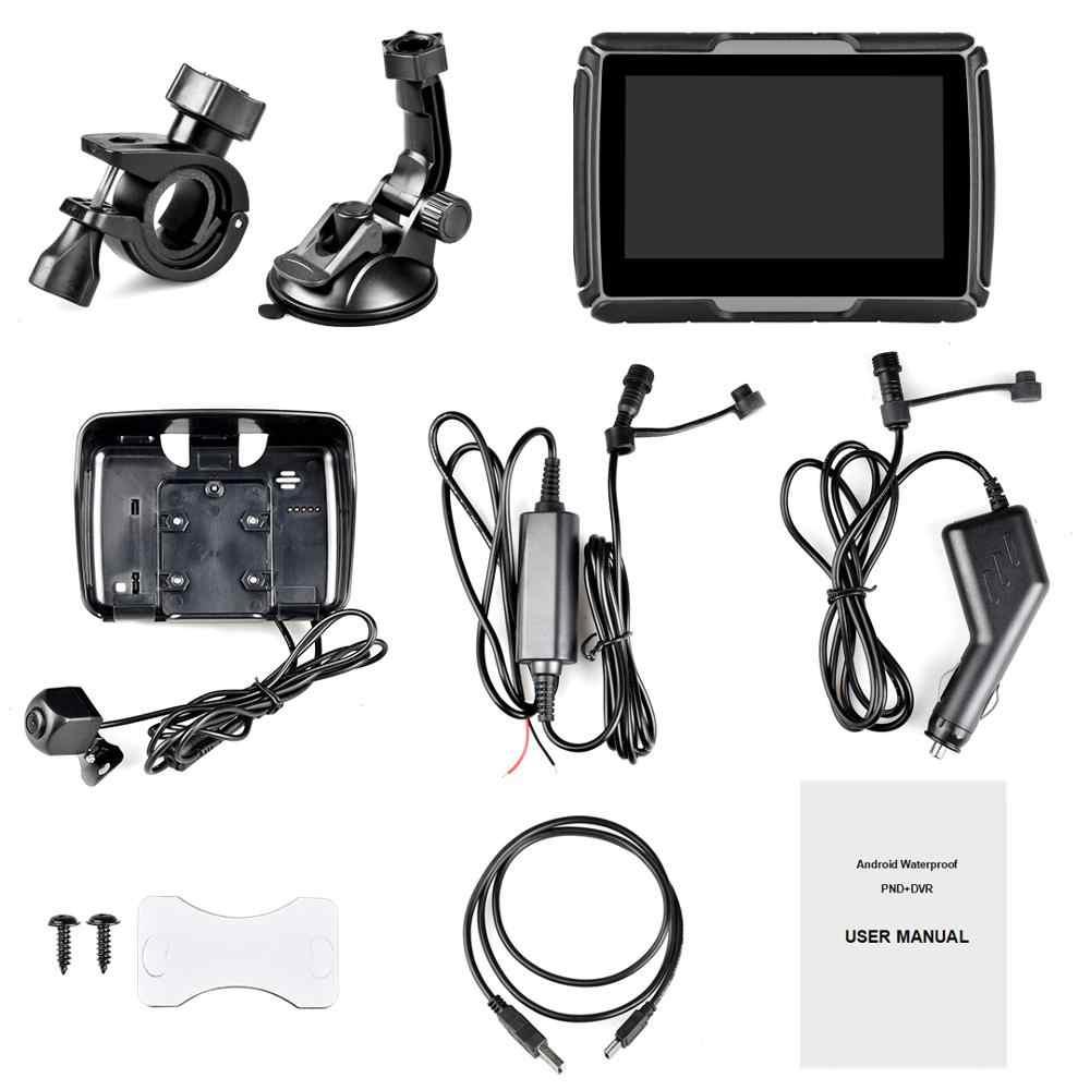 Dash Kamera 4.3'' Motorrad Auto GPS Navigationsgert Android WIFI ...