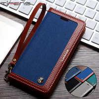 Funda Vintage tipo billetera para Samsung S10plus cubierta para Galaxy S8 de cuero magnético fuerte S9 S10 Plus S7 Edge Note 9 8 Coque Etui