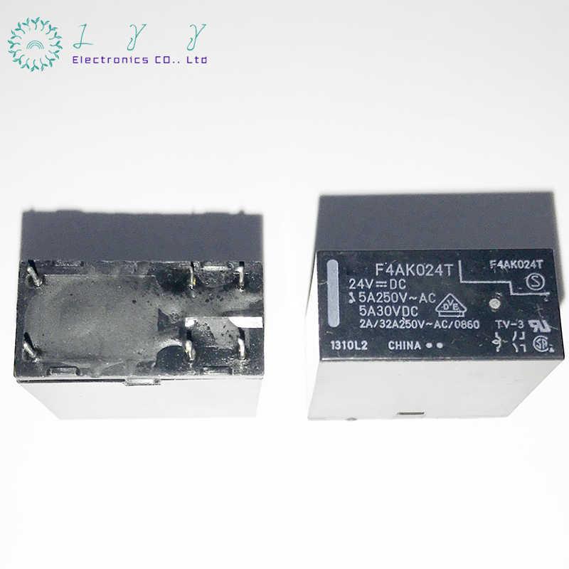 1 teile/los F4AK024T FTR-F4AK024T F4AK024 24VDC 5A