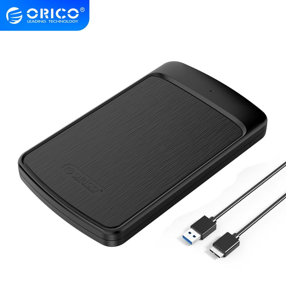 ORICO 2020U3 HDD Case 2.5 SATA to USB 3.0 Hard Drive Enclosure for SSD Disk HDD Box HD 4TB External HDD Enclosure Adapter