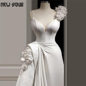 Image 1 - Floor Length Beading Evening Dresses 2020 Custom made Islamic Dubai Party Gown Women Saudi Arabic Long Formal Prom Gown Vestidos