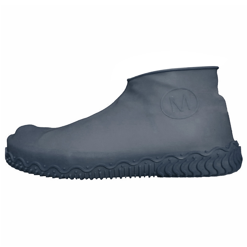 Unisex Wear Resistant Waterproof Shoe Protector Made of Silicone Material with a Non Slip Textured Sole for Outdoor in Rainy Days 11