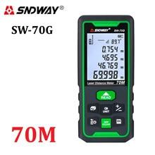 SNDWAY télémètre Laser télémètre numérique 100m 70m 50m Trena Lazer règle de mesure de la Roulette