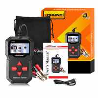 KW210 automatic smart 12V Car Battery Tester  Auto Battery Analyzer  100 to 2000CCA  Cranking Car  Battery-Tester